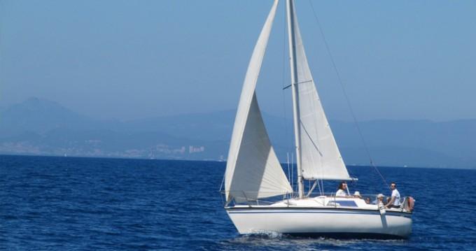 Alquiler Velero Aloa con título de navegación