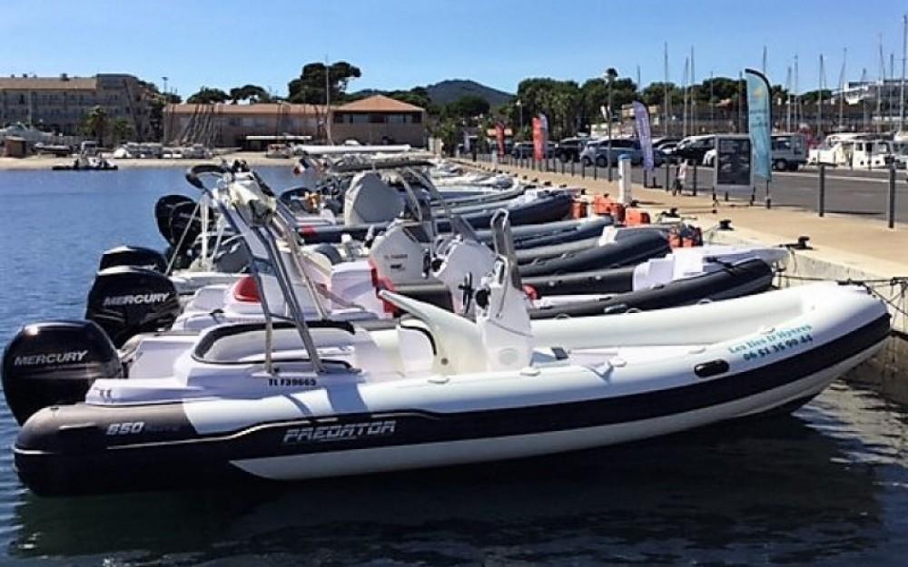 Alquiler Neumática en Hyères - Italboats Predator 650