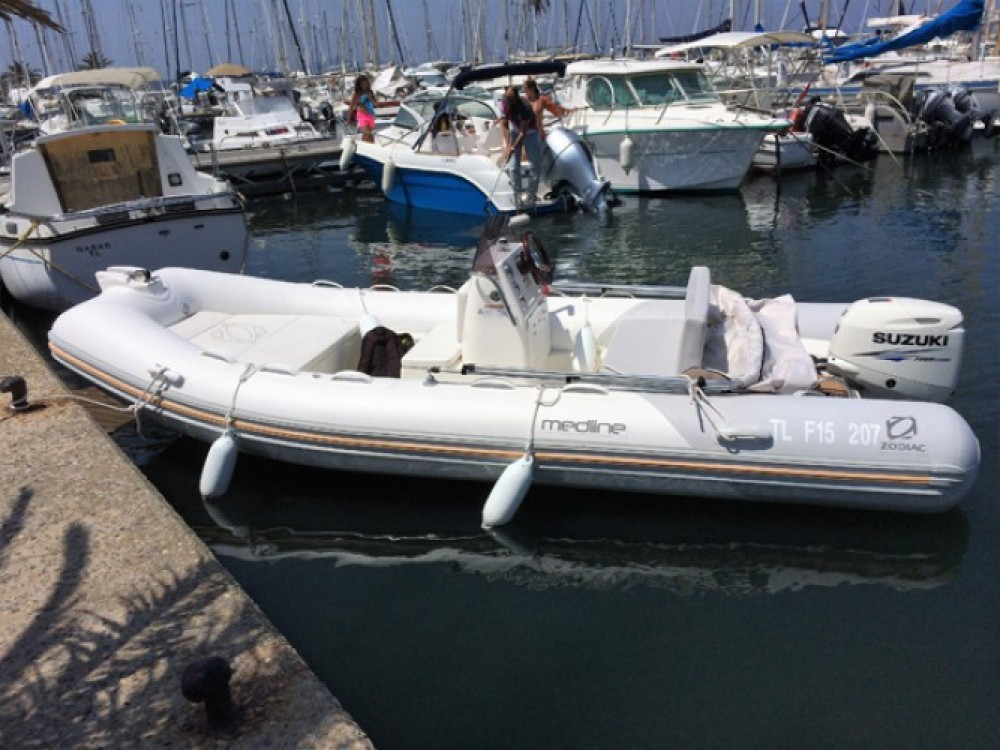 Alquiler de barcos Hyères barato de Medline 500