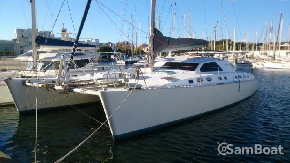 Alquiler Catamarán en Martinica - Chantier-Du-Lez plan carof lazzy 54