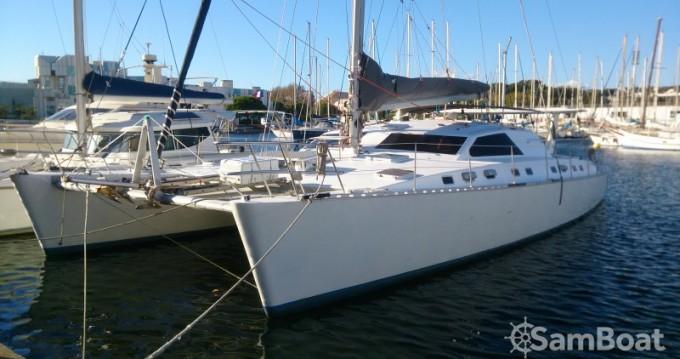Alquiler de barcos Chantier-Du-Lez plan carof lazzy 54 enLe Marin en Samboat