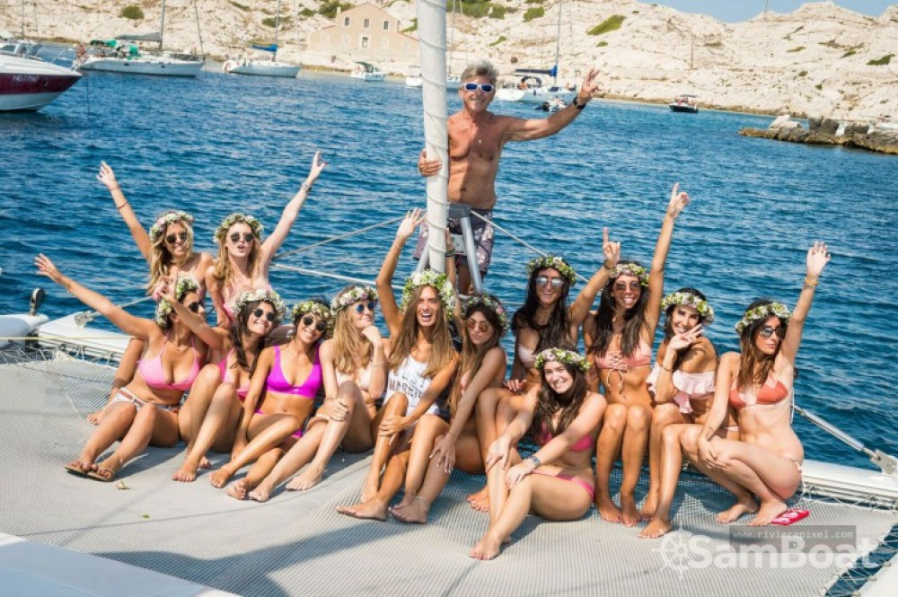 Alquiler Catamarán en Marsella - Fountaine Pajot Bahia 46