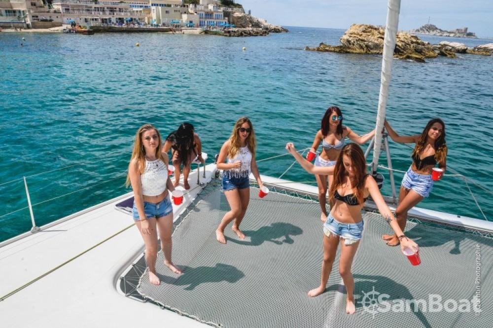 Alquiler de barcos Fountaine Pajot Bahia 46 enMarsella en Samboat