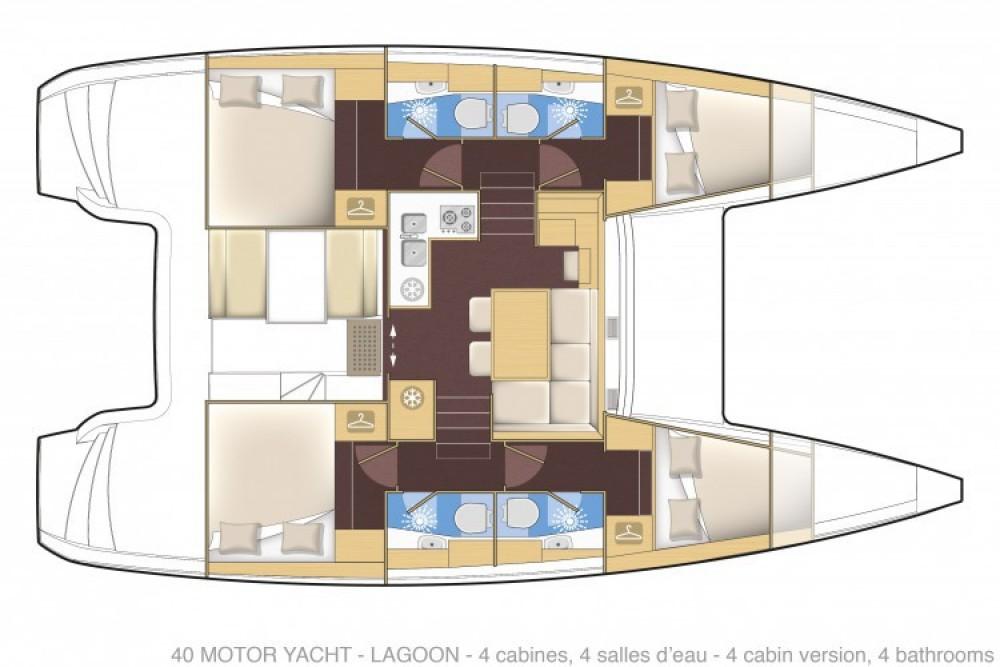 Alquiler de Lagoon Lagoon 40 Motor Yacht en Cannes