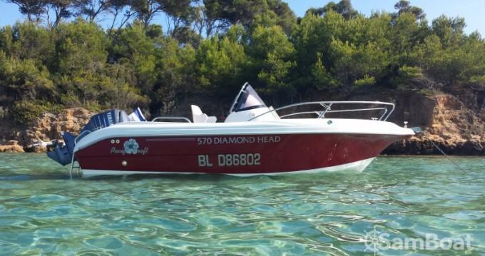 Alquiler de barcos La Ciotat barato de Pacific craft 570 Diamond Head