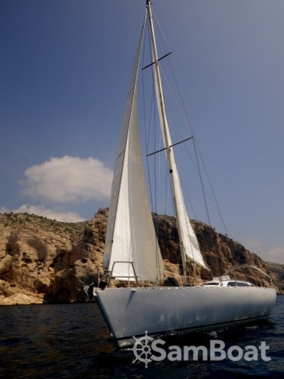 Alquiler Velero Alu-Boat-Prestige con título de navegación