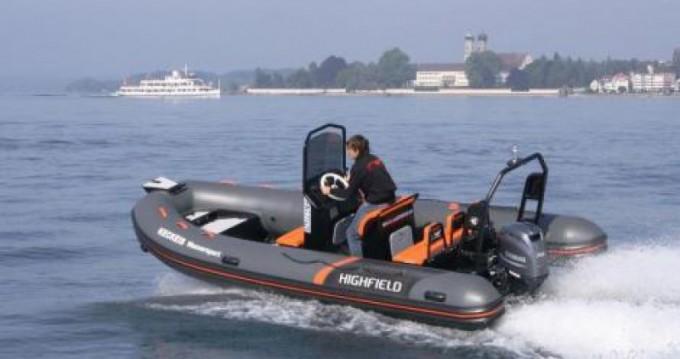 Alquiler Neumática en Saint-Malo - Highfield Ocean Master 540