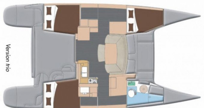 Fountaine Pajot Mahe 36 Evolution entre particulares y profesional Le Marin
