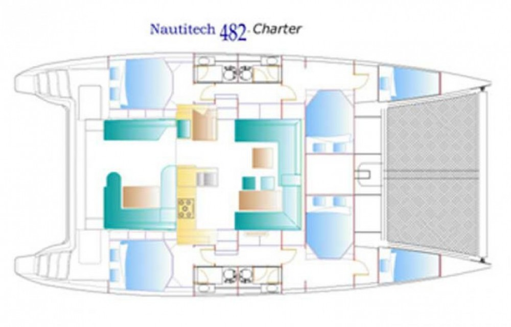 Nautitech Nautitech 482 entre particulares y profesional Martinica