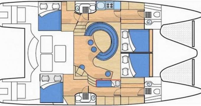 Alquiler de barcos Alliaura-Marine Privilege 495 enLe Marin en Samboat