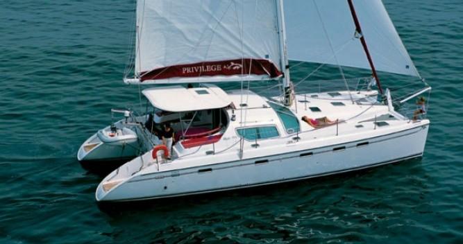 Alquiler de Catamarán, con o sin patrón Alliaura-Marine Le Marin