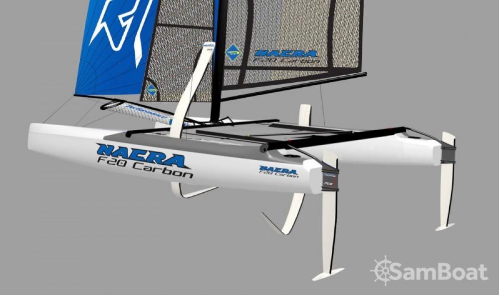 Alquiler de barcos La Grande-Motte barato de Nacra F20 FCS