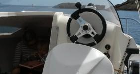 Alquiler Lancha Quicksilver con título de navegación