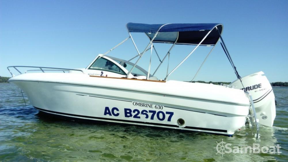 Alquiler de barcos Arcachón barato de Ombrine 630