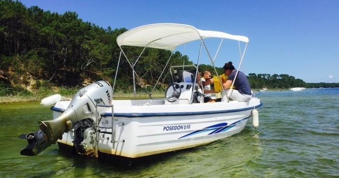 Alquiler de barcos Poseidon 510 Confort enBiscarrosse en Samboat
