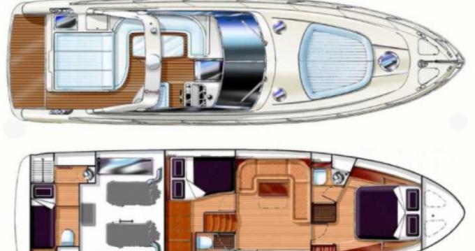 Alquiler de barcos Gianetti 45 Sport enNice en Samboat