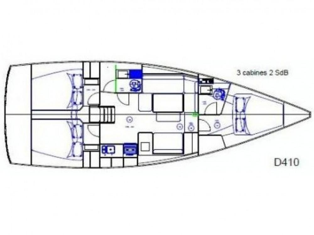 Alquiler de barcos Sicilia barato de Dufour 410 Grand Large