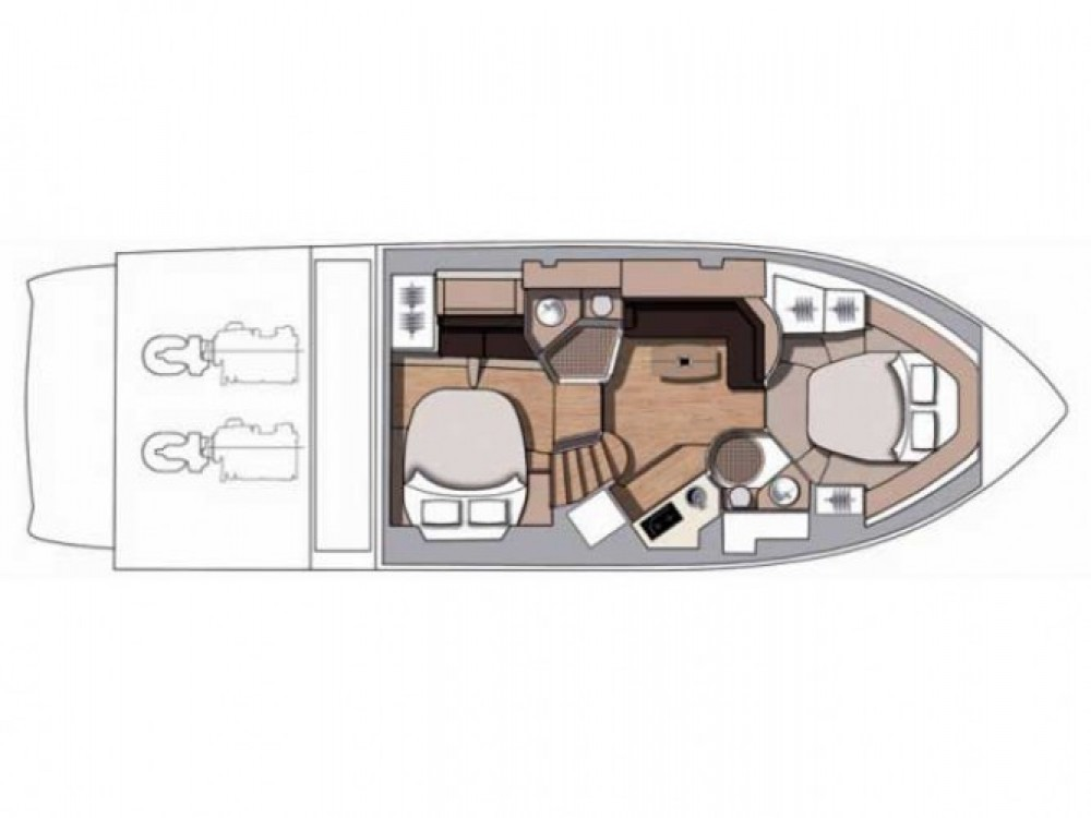 Alquiler de barcos Cranchi-43-Sport-Top  enPrimošten en Samboat