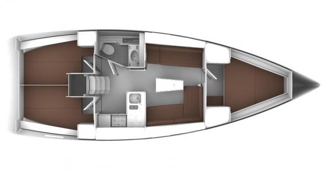Bavaria Cruiser 37 entre particulares y profesional Biograd na Moru