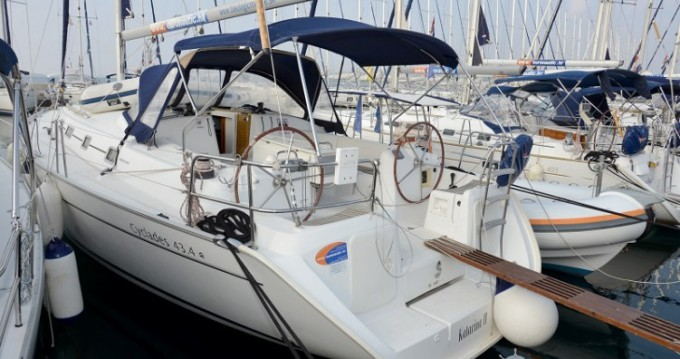 Alquiler de barcos Bénéteau Cyclades 43.4 enBiograd na Moru en Samboat