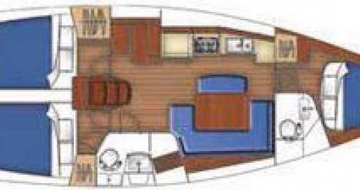 Alquiler de barcos La Grande-Motte barato de Oceanis 40