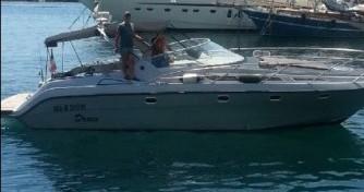 Alquiler Lancha Windy con título de navegación
