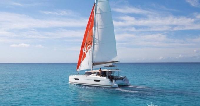 Alquiler de barcos Fountaine Pajot Lucia 40 enLe Marin en Samboat