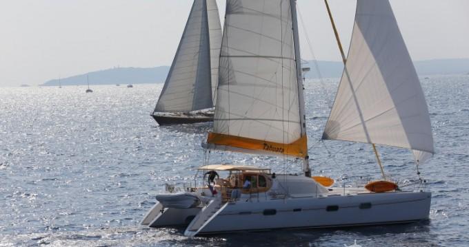 Alquiler de Catamarán, con o sin patrón Privilege-Marine Ajaccio