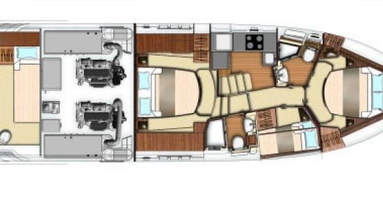 Alquiler Yate Azimut con título de navegación