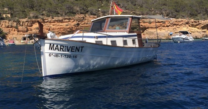 Alquiler de yate Cala Tarida - Copino Llaut copino 44 en SamBoat