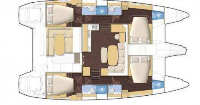 Alquiler Catamarán Bénéteau con título de navegación