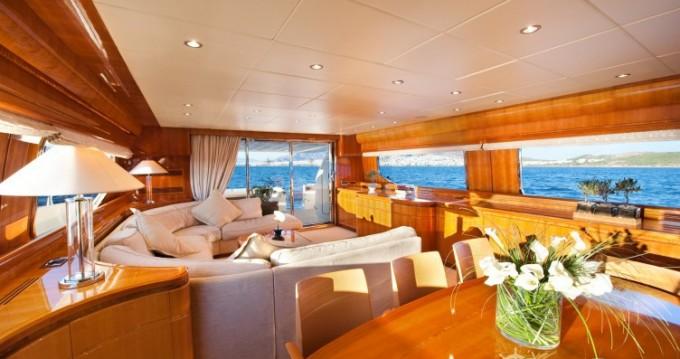 Alquiler de Posillipo yacht en Atenas