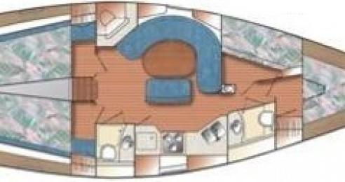 Alquiler de barcos Genova barato de Catalina 42