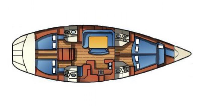 Alquiler de barcos Jeanneau Sun Odyssey 52.2 enAndora en Samboat