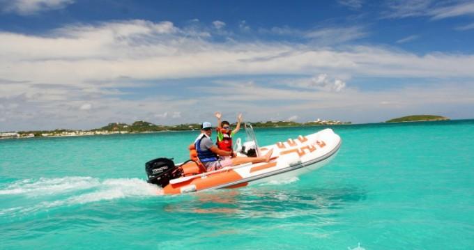 Alquiler de barcos Marigot barato de rib 350