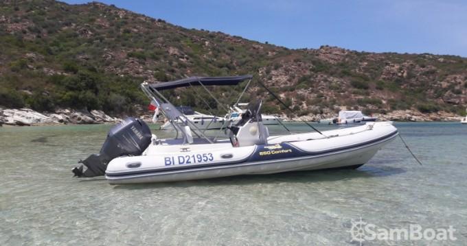 Alquiler de barcos Motonautica-Vesuviana MV  650 confort enSaint-Florent en Samboat