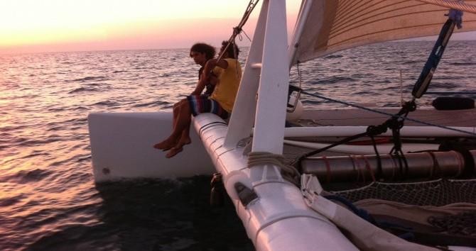 Alquiler de barcos Port Camargue barato de catamaran de course 60'