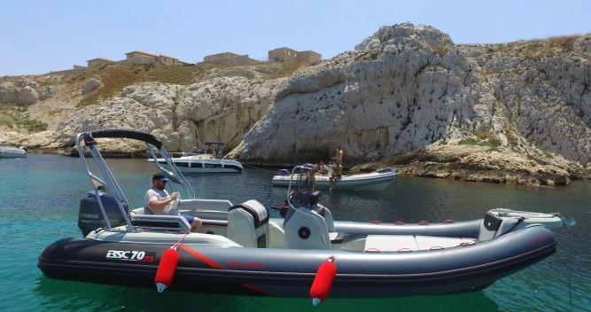 Alquiler de barcos Vieux-Port de Marseille barato de 70 RS