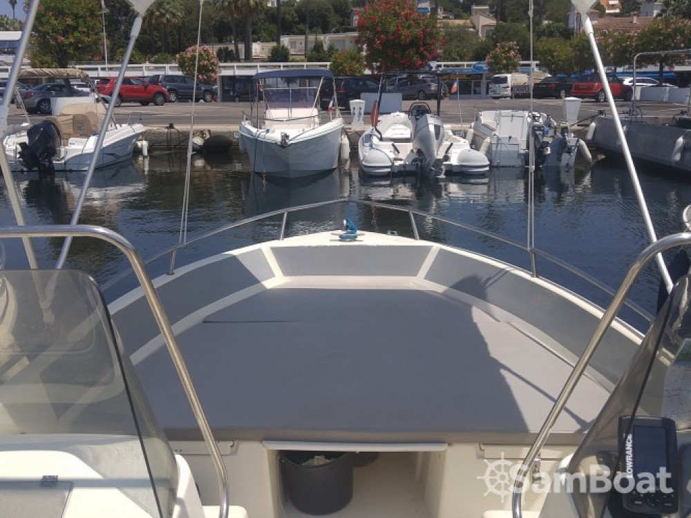Alquiler Lancha en Antibes - Ultramar OPEN 570