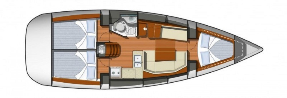 Alquiler de barcos Jeanneau Sun Odyssey 36i enCannes en Samboat