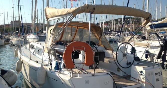 Alquiler de barcos Dufour Dufour 375 enSanary-sur-Mer en Samboat