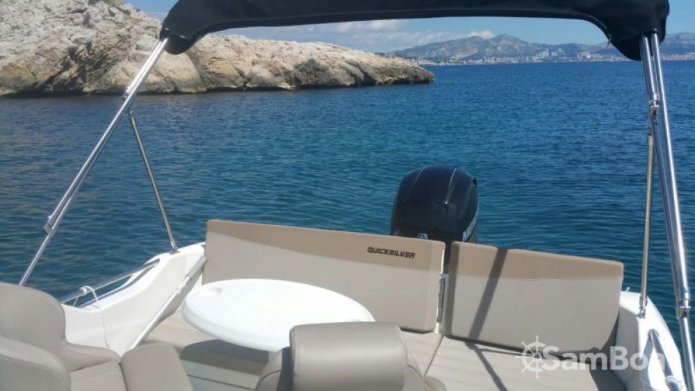 Alquiler de barcos Marseille barato de Quicksilver 605 Sundeck