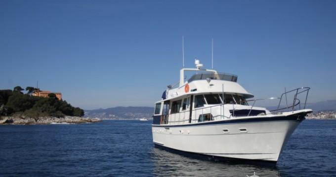 Alquiler Yate Hatteras con título de navegación