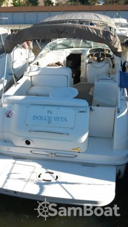 Alquiler de Lancha, con o sin patrón Sea Ray Mandelieu-la-Napoule