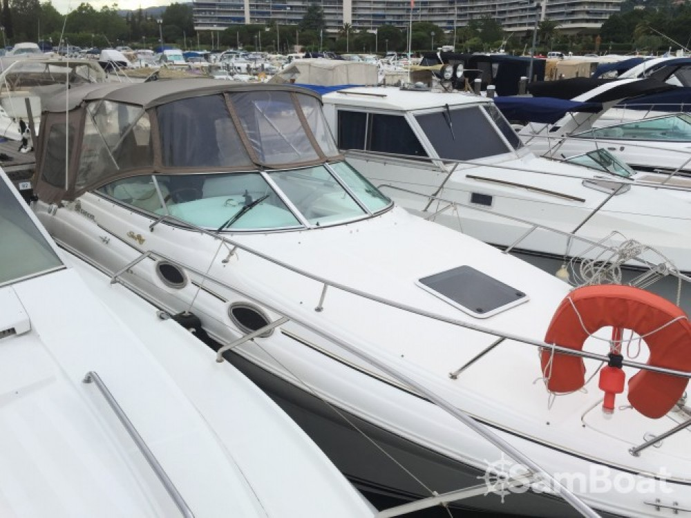Alquiler de barcos Mandelieu-la-Napoule barato de Sea Ray 260 Sundancer