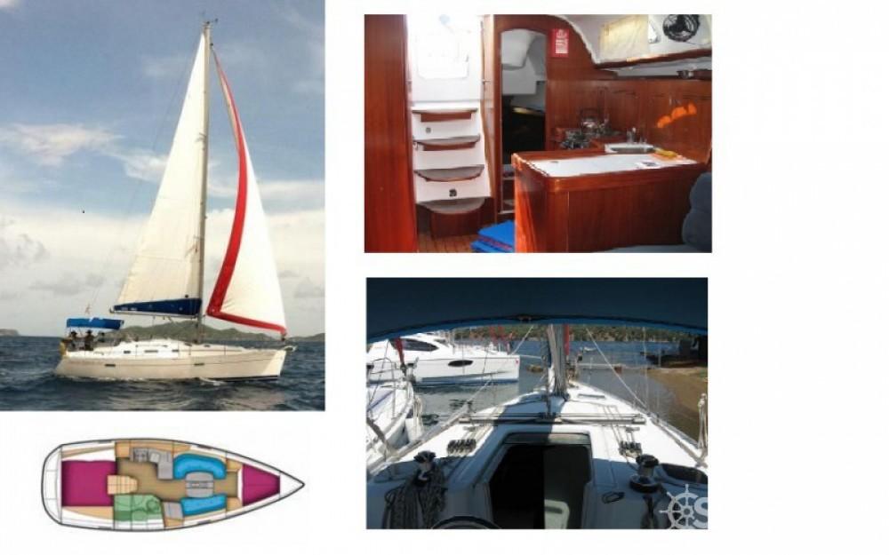 Alquiler de barcos Pointe-à-Pitre barato de Oceanis 343