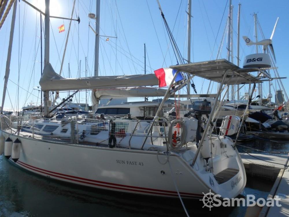 Alquiler de yate Bandol - Jeanneau Sun Fast 43 en SamBoat