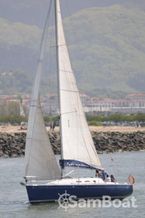 Alquiler de barcos San Sebastián barato de First 40.7