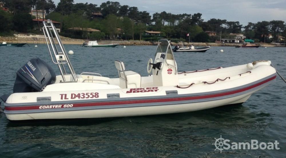 Alquiler de barcos Joker Boat Coaster 600 enLège-Cap-Ferret en Samboat