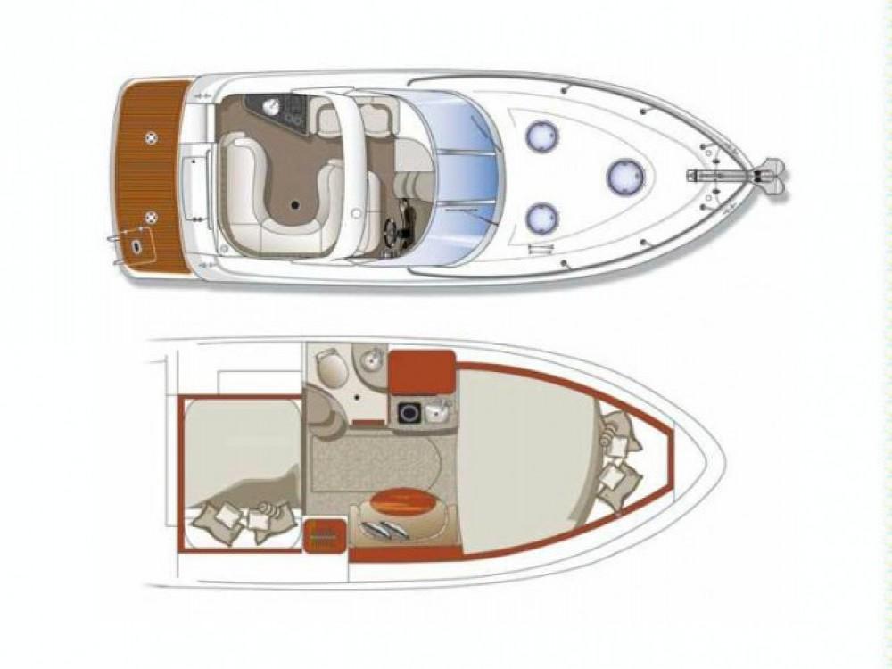 Alquiler de barcos Four Winns Vista 288 enMandelieu-la-Napoule en Samboat